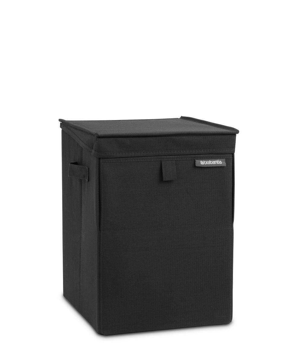 Stohovatelný box na prádlo Brabantia černý 109300