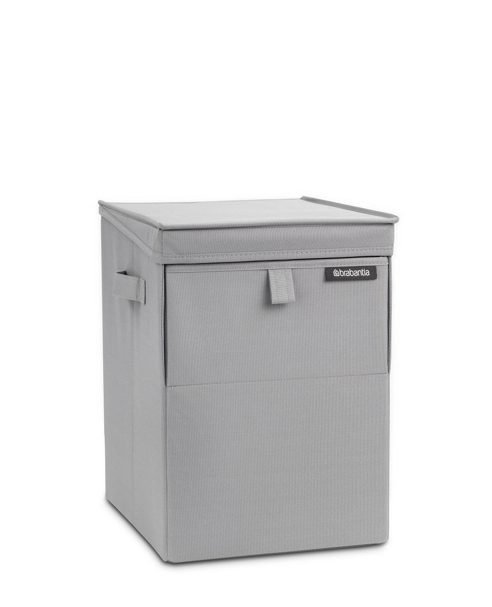 Stohovatelný box na prádlo Brabantia šedý 109324