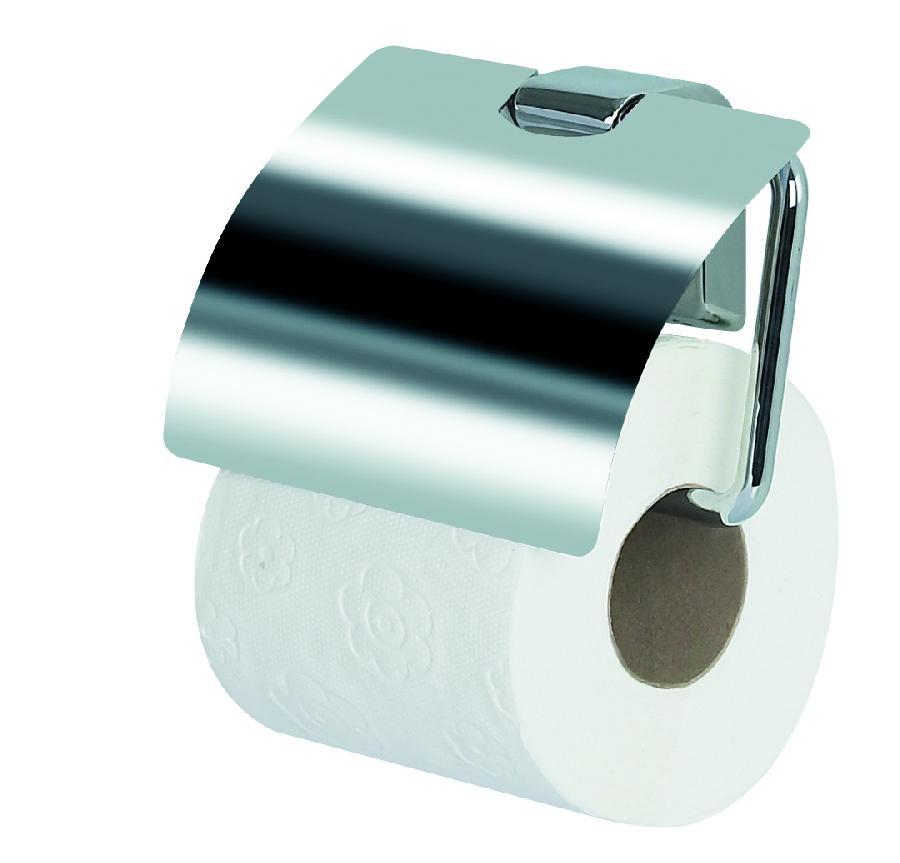 SPIRELLA MAX-LIGHT Držák WC papíru s krytem chromový