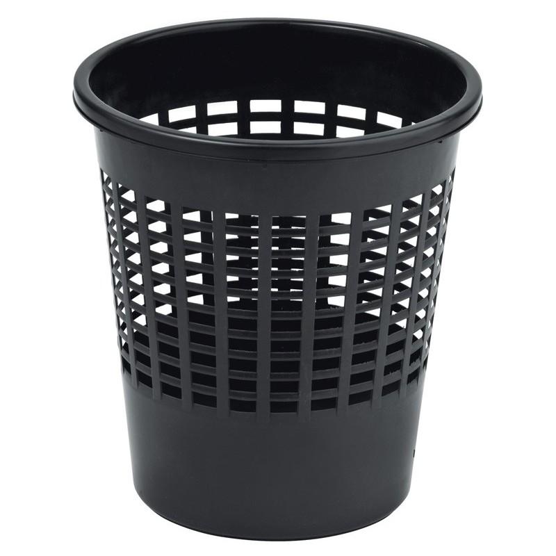 Odpadkový koš na PAPÍR 11 l černý 04022-101