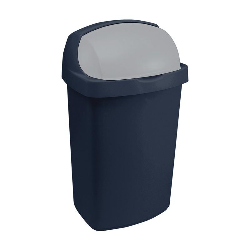 Odpadkový koš Curver ROLL TOP 50l modrý 03977-266