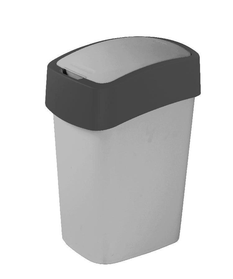 Odpadkový koš FLIPBIN 25l šedý 02171-686