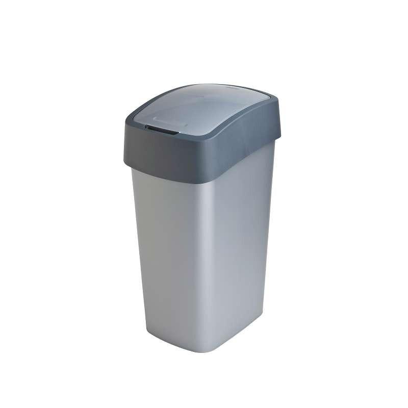 Odpadkový koš FLIPBIN 50l šedý 02172-686