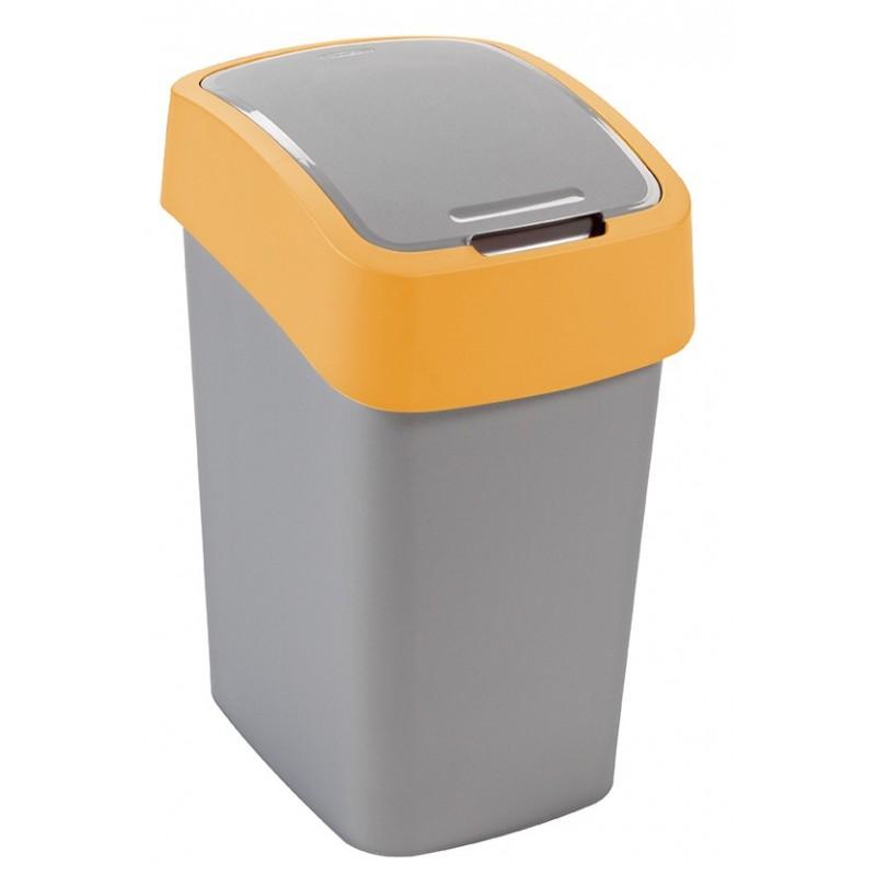 FLIPBIN Odpadkový koš 25l, žlutý, 02171-535
