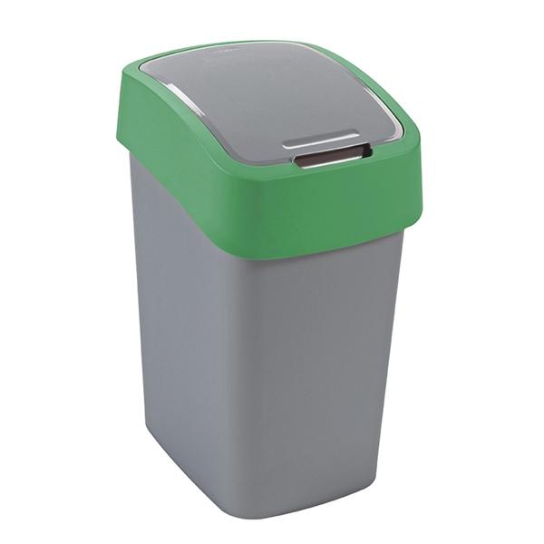 Odpadkový koš FLIPBIN 10l zelený 02170-P80