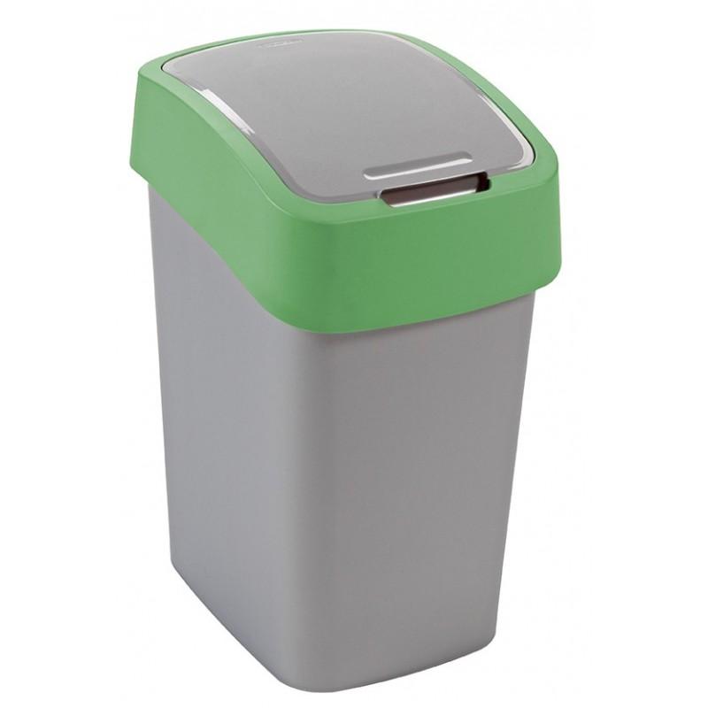 Odpadkový koš FLIPBIN 25l zelená 02171-P80