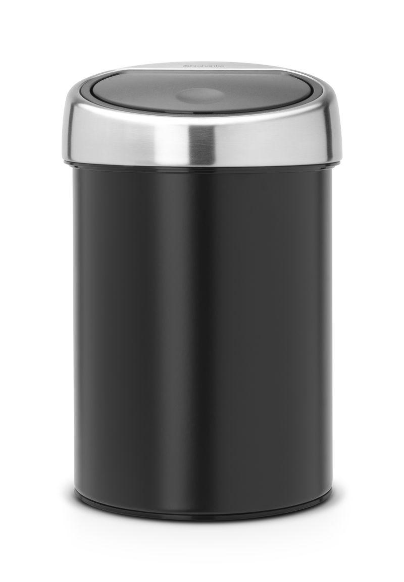 Koš na odpadky Touch Bin Brabantia - 3 l, matná černá 364440