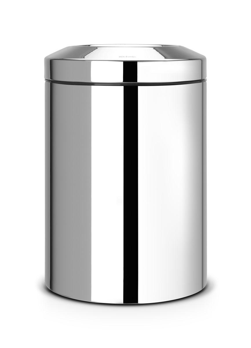 Odpadkový koš Brabantia - 15 l, nehořlavý, lesklá ocel 378881