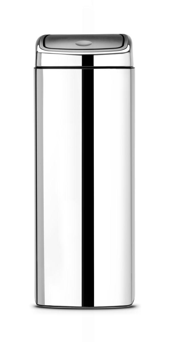 Koš Touch Bin Brabantia - 25l, čtvercový, lesklá ocel 384905