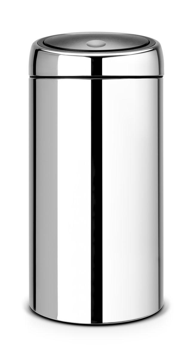 Koš na odpad Touch Bin Brabantia - 45 l, dotykový, lesklá ocel 390821
