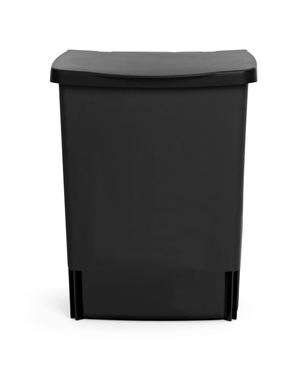 Vestavný koš Brabantia - 10l, černý 395246