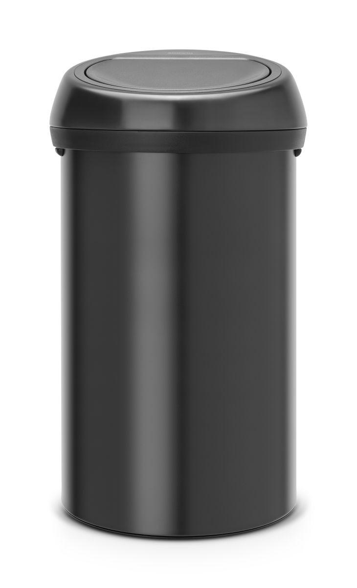 Koš na odpad Touch Bin Brabantia - 60l, dotykový, matná černá 402562