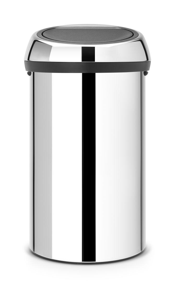 Koš na odpad Touch Bin Brabantia - 60l, lesklá ocel 402609
