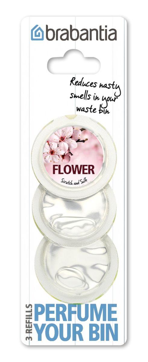 Vůně do koše Perfume Your Bin Brabantia náhradní náplně (3 kapsle) – květiny 482083