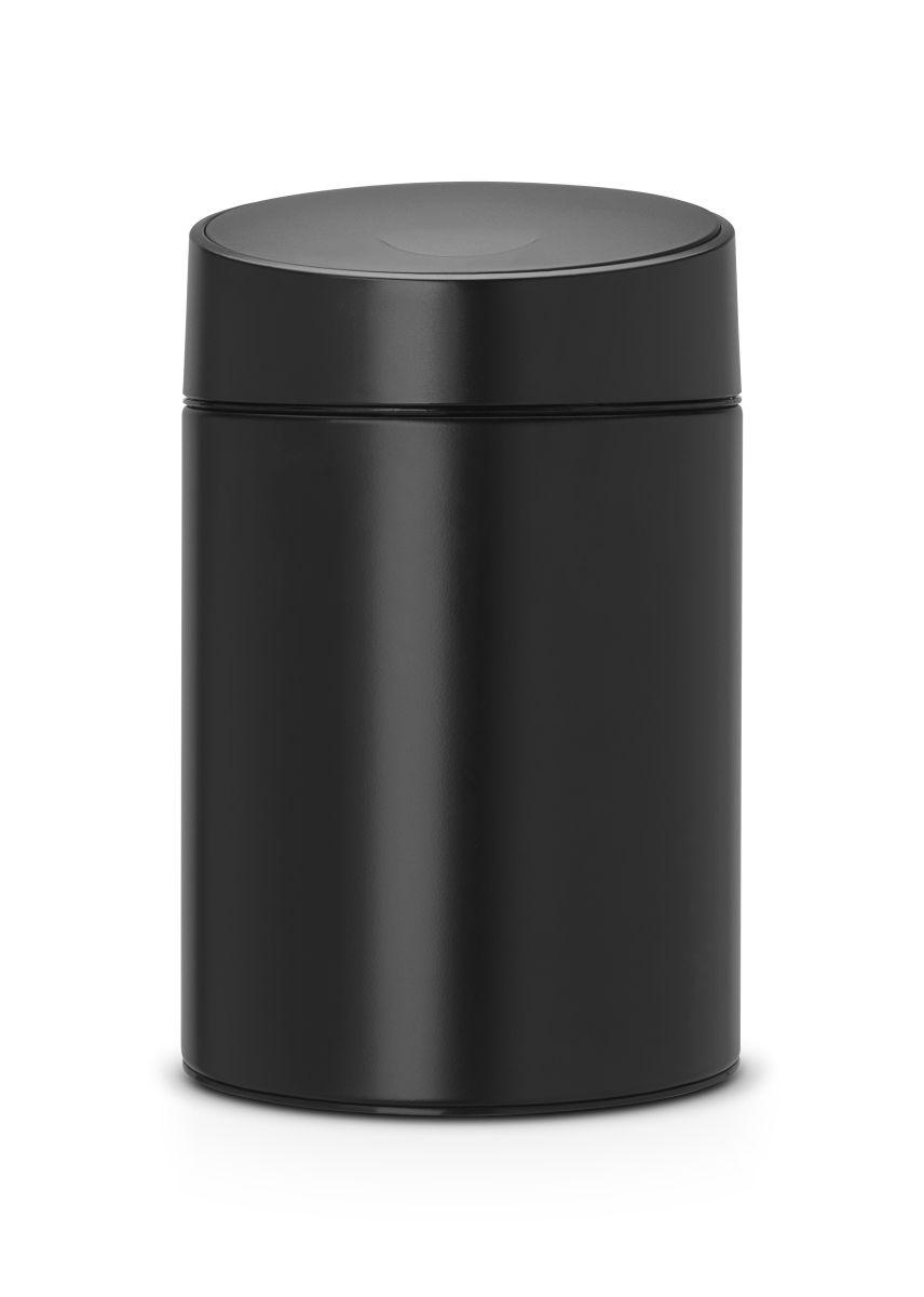 Koš na odpadky Slide Bin Brabantia 5l, matná černá 483189