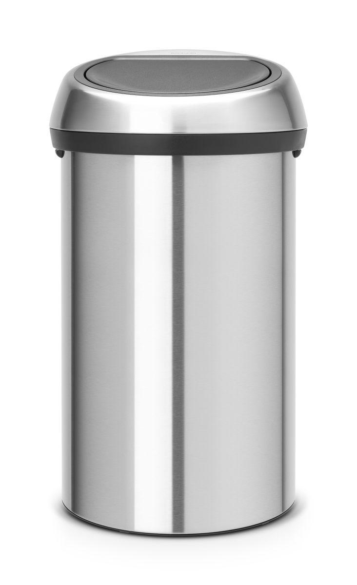Koš na odpad Touch Bin Brabantia - 60l, dotykový, matná ocel 484506