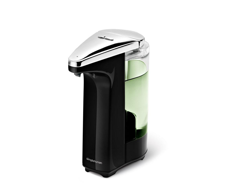 SIMPLEHUMAN Bezdotykový dávkovač mýdla 237 ml, černý ST1019