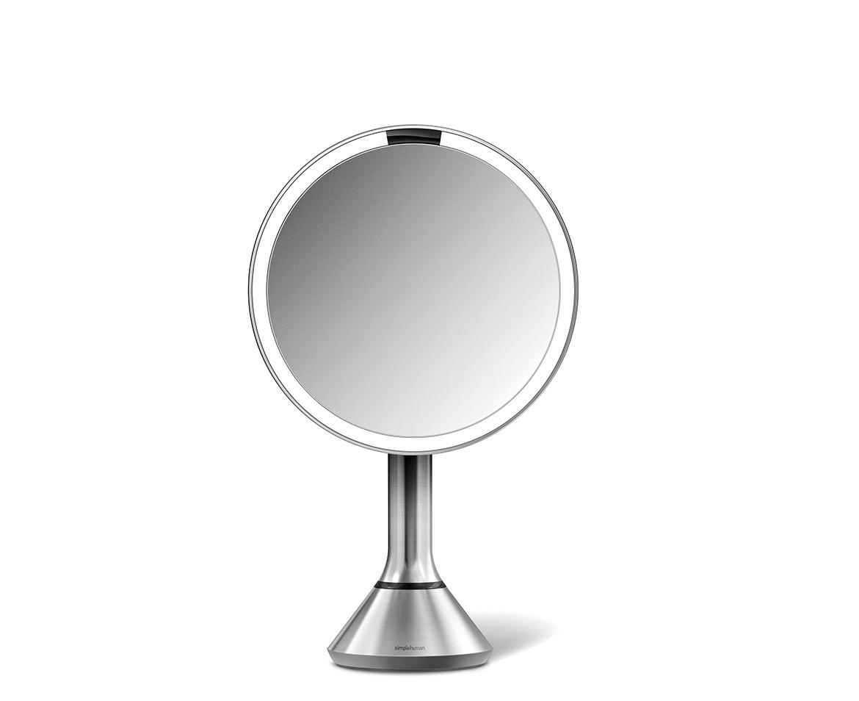 Simplehuman Kosmetické zrcátko Sensor Tru-lux LED osvětlení, 5x zvětšení, dobíjecí BT1080