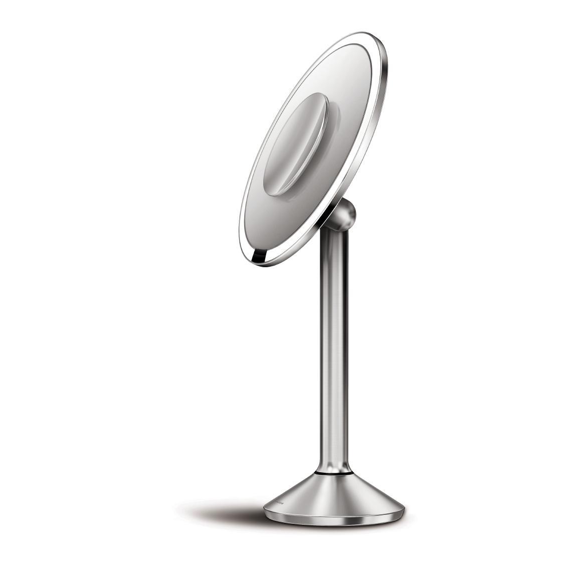 Kosmetické zrcátko Simplehuman Sensor PRO -Tru-lux LED, 5x/10x zvětšení, dobíjecí, WiFi - novinka 2016