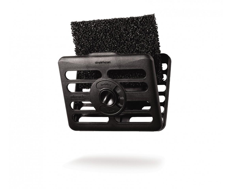 Simplehuman Pohlcovač pachů do odpadkového koše – filtr + držák KT1165