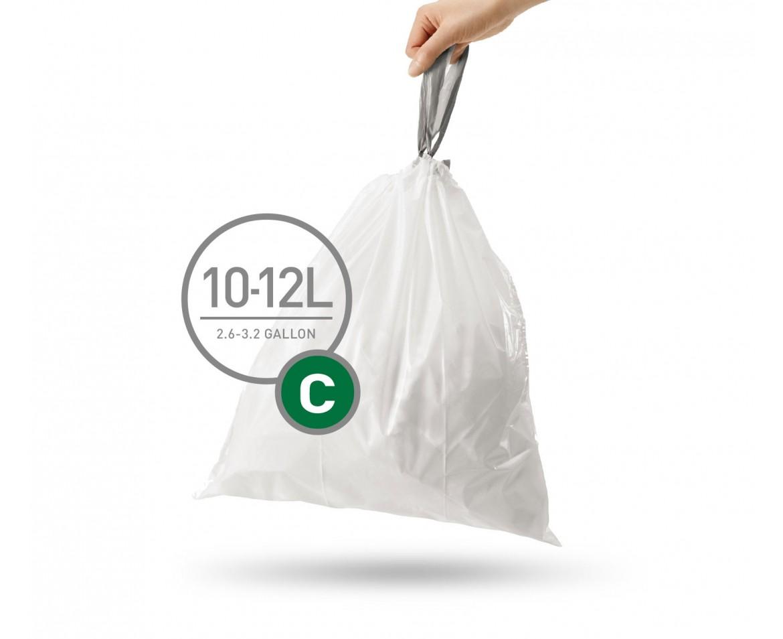 Sáčky do koše Simplehuman typ C - 10-12 l, 20 ks v balení - skladem