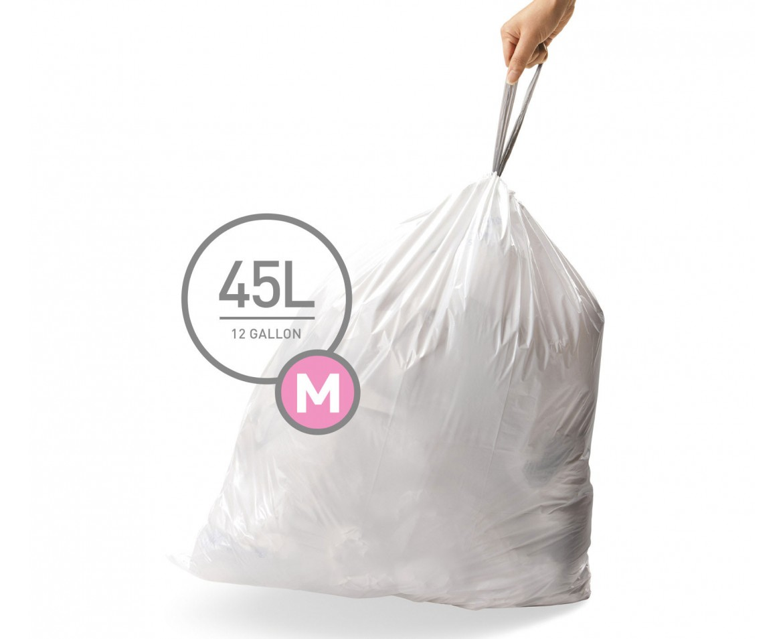 Sáčky do koše Simplehuman typ M - 45 l, 20 ks v balení - skladem