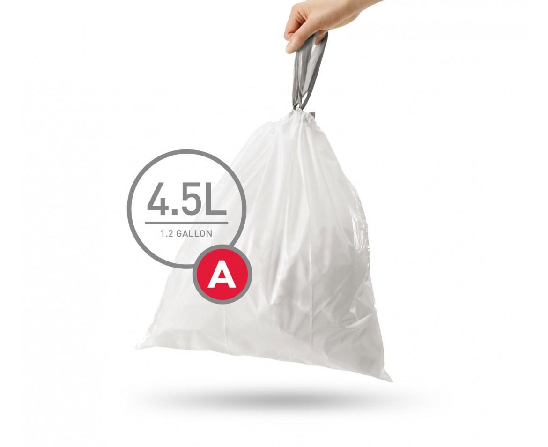 Sáčky do koše Simplehuman typ A - 4,5 l, 30 ks v balení - skladem