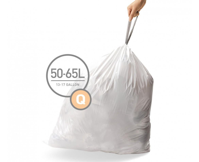 Sáčky do koše Simplehuman typ Q - 50-65 l, 20 ks v balení - skladem