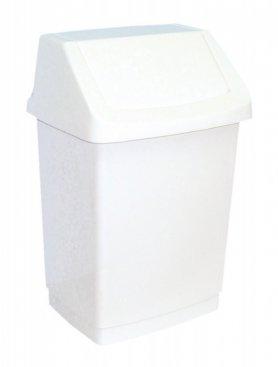 Odpadkový koš CLICK 9l bílý 04042-026