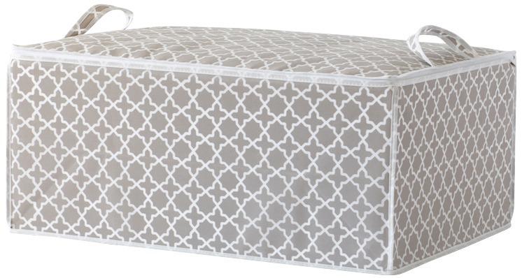 "Textilní úložný box na peřinu Compactor - ""Madison"" 50x70x30 cm"